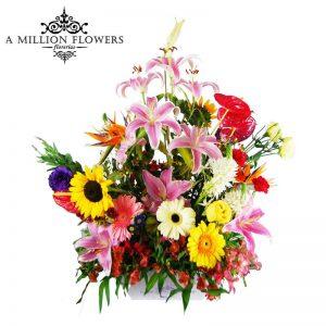 Diseño floral million flowers