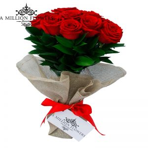 Rosas en ramo 1
