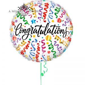 Globo congratulations
